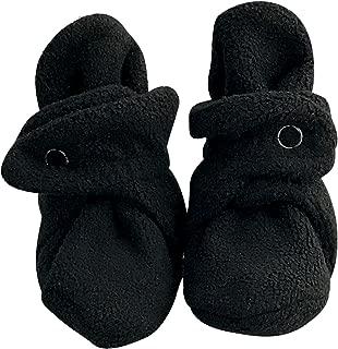 bume baby Black Cozy Warm Infant Baby Fleece Booties