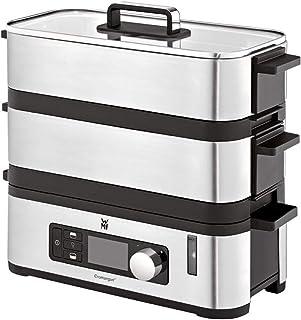 comprar comparacion WMF Kitchenminis - Vaporera 900 W, 2 Zonas de Cocción y Función de Mantenimiento de la Calor, Acabados de Acero Inoxidable...