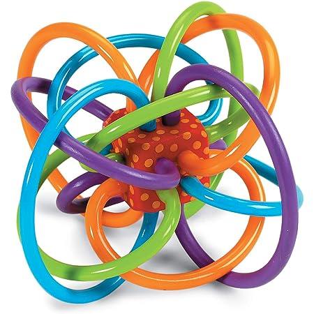 Manhattan Toy Winkel Rattle & Sensory Teether Toy