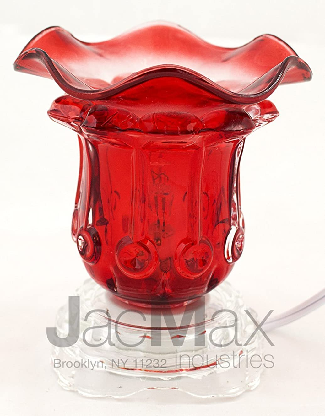 Expressive Scent Electric Burner for Oil and Wax Melts - Fragrance Oil Lamp RED EB01