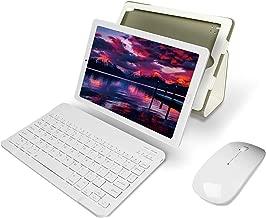 Tablet 10 Pulgadas YESTEL Android 8.0 Tablets con 3GB RAM & 32GB ROM y 4G LTE Dual SIM Call, 5.0 MP + 8.0 MP HD la Cámara y 8000mAH (WI-FI ,GPS, Bluetooth ,FM Radio) -Plata