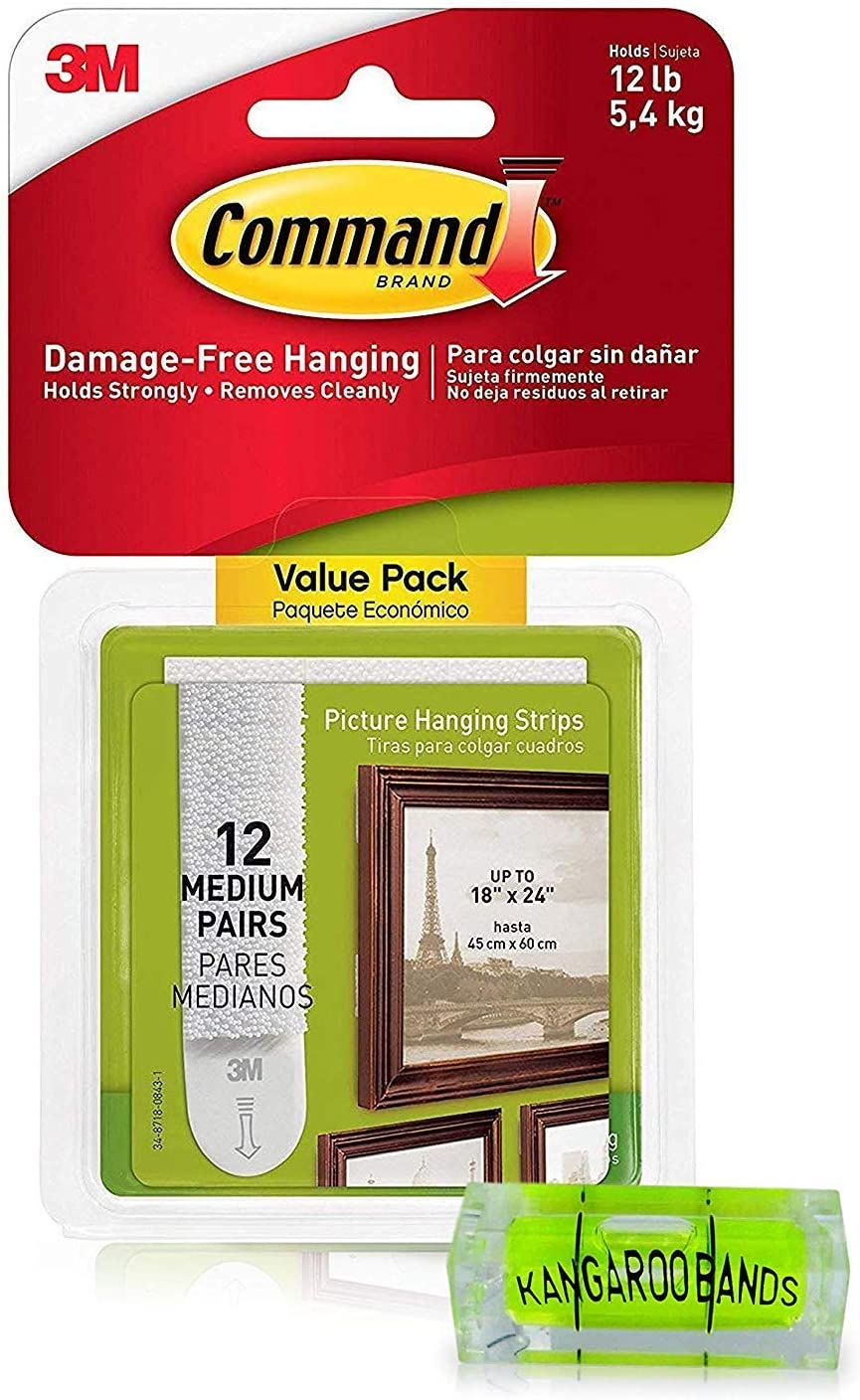 Command Picture Hanging Kit 3m Strips Max 55% OFF Level 12-P Recommendation Damage-Free