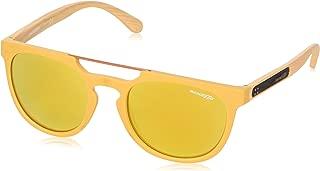Arnette WOODWARD Model AN4237-2457NO Sunglasses Matte Mustard w/Brown(orange) / 24k Iridium Lens 52mm