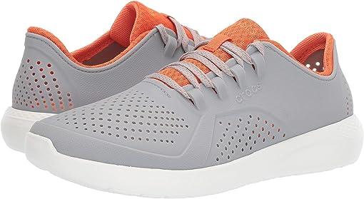Light Grey/Orange