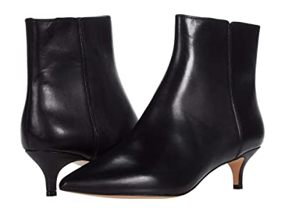 J.Crew Leather Emma Boot (Black) Women