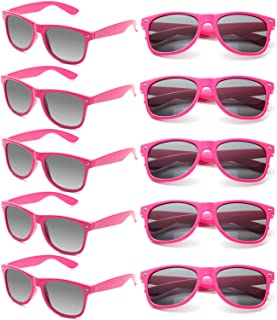 Sponsored Ad - Wholesale Sunglasses Bulk for Adults Party Favors Retro Classic Shades 10 Pack