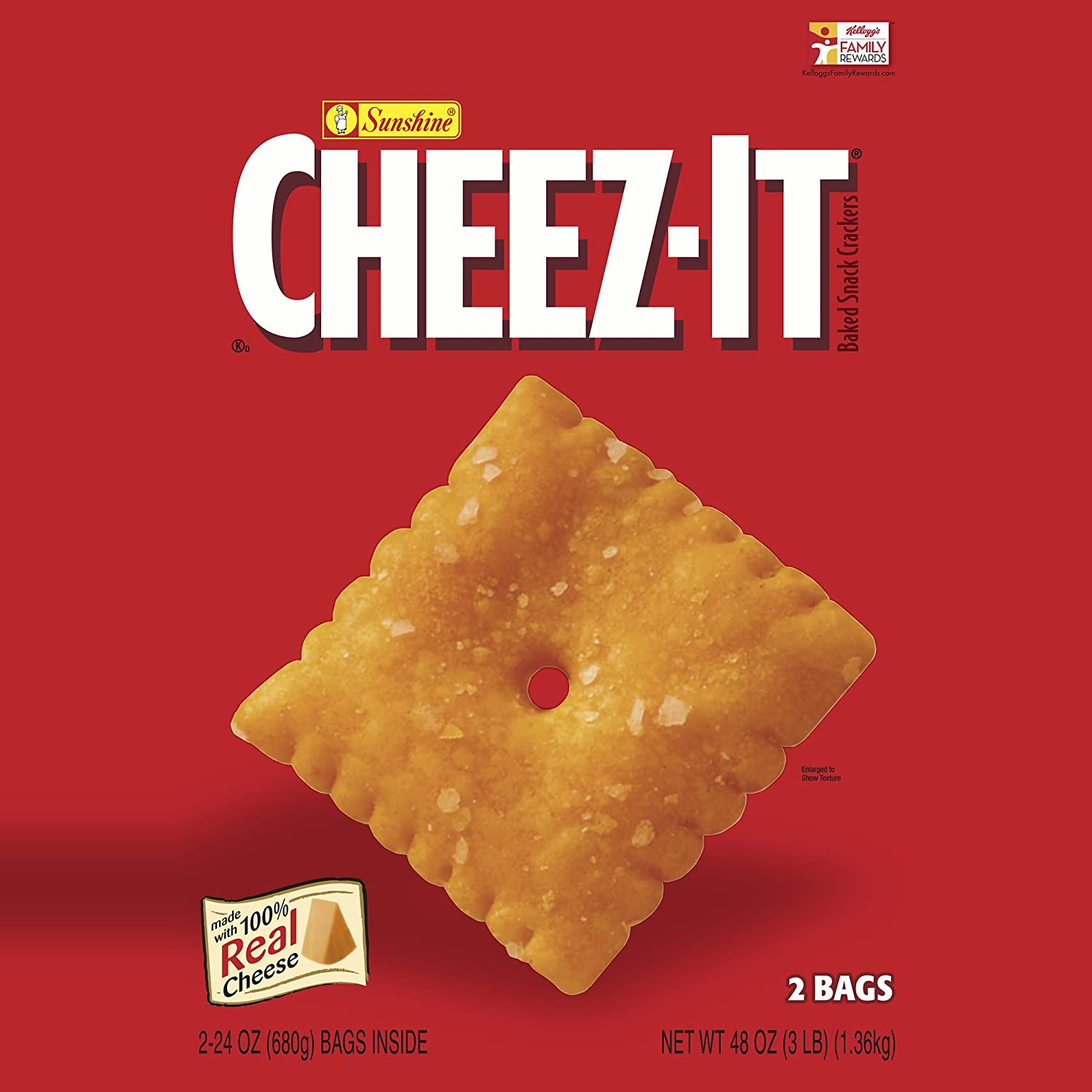 Cheez-It Crackers 48 oz. 2 Luxury goods of All items free shipping pack