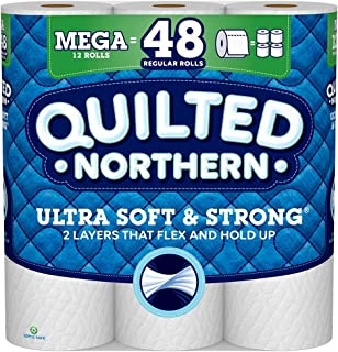 Quilted Northern Ultra Soft & Strong Toilet Paper, 12 Count