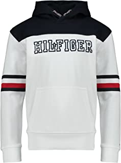 Tommy Hilfiger hoodie for kids (unisex) in White, Size:8-9years
