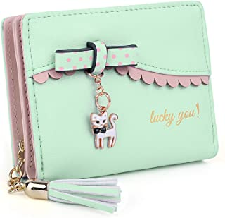 Wallet for PU Leather Card Holder Organizer Women Small Cute Coin Purse