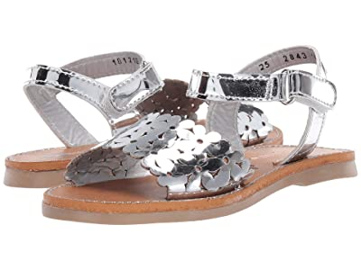 Kid Express Elliana (Toddler) (Silver Combo) Girls Shoes