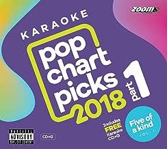 Zoom Karaoke Pop Chart Picks 2018 Part 1 + Five of a Kind Vol. 1