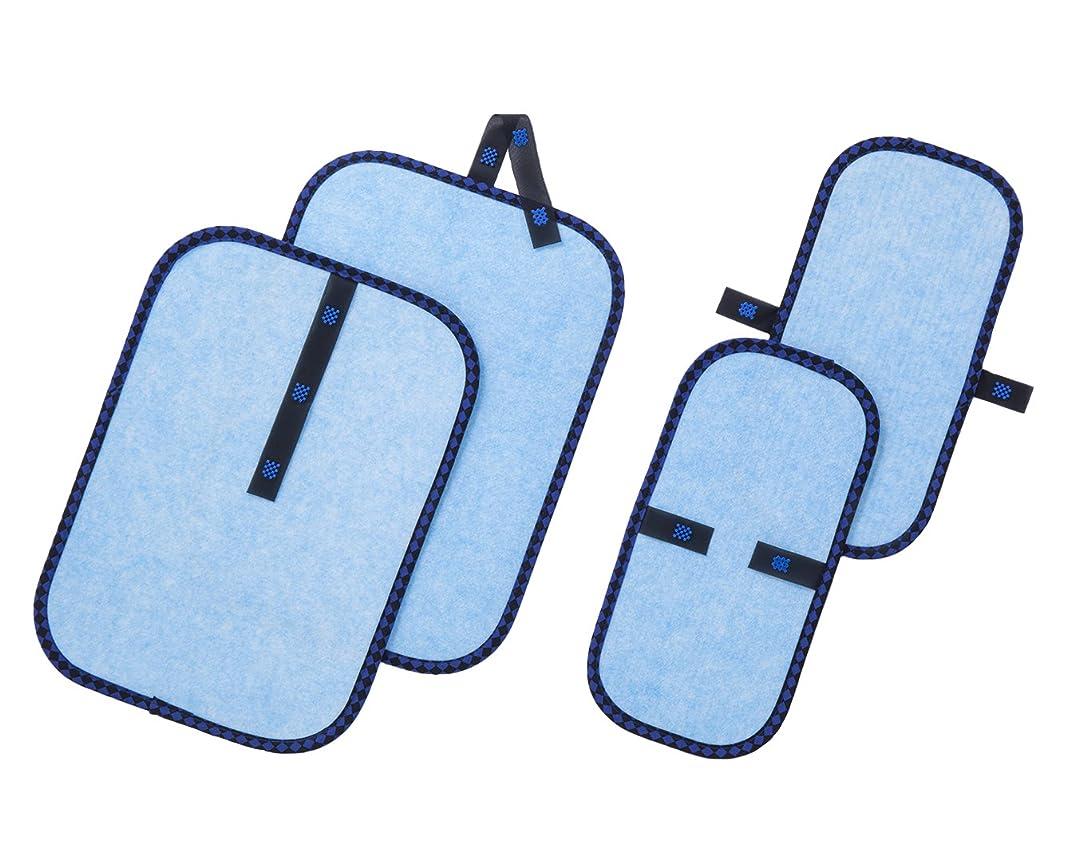 図書館選挙パーティーテイジン ベルオアシス使用 ジョイントドライ(除湿シート)ミニ 大小4枚セット