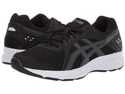 ASICS Kids Jolt 2 GS (Big Kid) (Black/Steel Grey) Boys Shoes