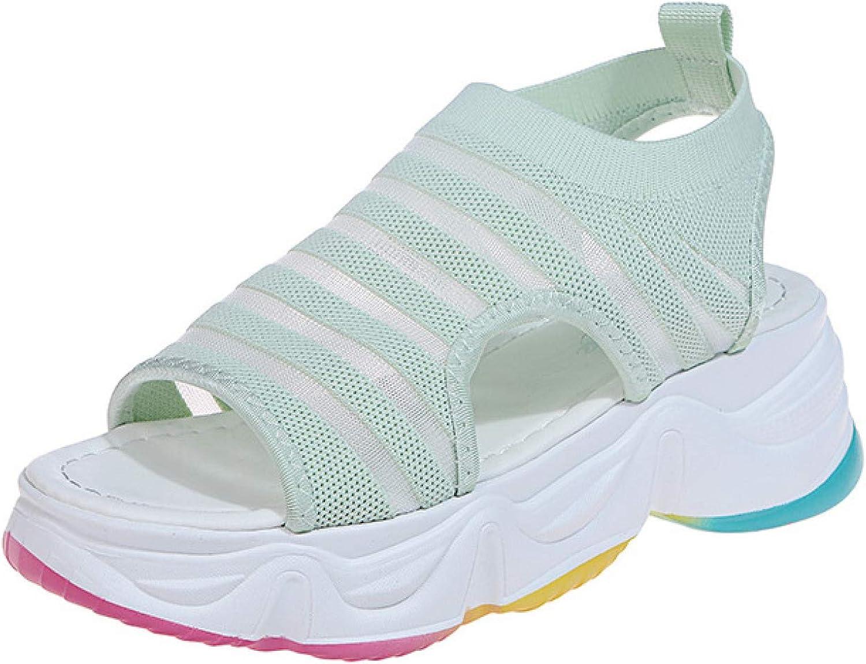 Womens Fashion service Flatform Platform Sandal Comfortable Ela Toe Peep Weekly update