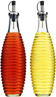Best ribbed glass bottle Reviews