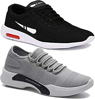 Shoefly Men's Running Shoe (Set of 2 Pairs)