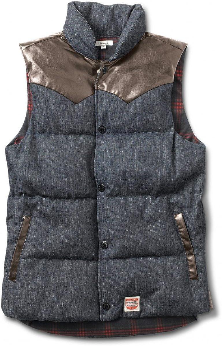 Diamond Supply Co. Mens DTC Puffer Vest