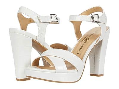 Chinese Laundry Always (White Croco) High Heels