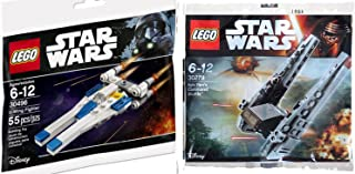 Lego Star Wars U-Wing Fighter + Kylo Ren's Command Shuttle Polybag edition Building Set