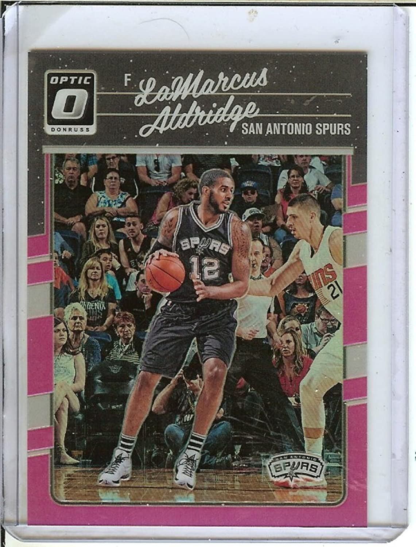 Basketball NBA 201617 Optic Pink  115 Lamarcus Aldridge 25 Spurs