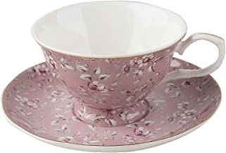 """Katie Alice """"Ditsy Floral"""" Cup and Saucer by Creative Tops, 200 ml (7 fl oz)"""