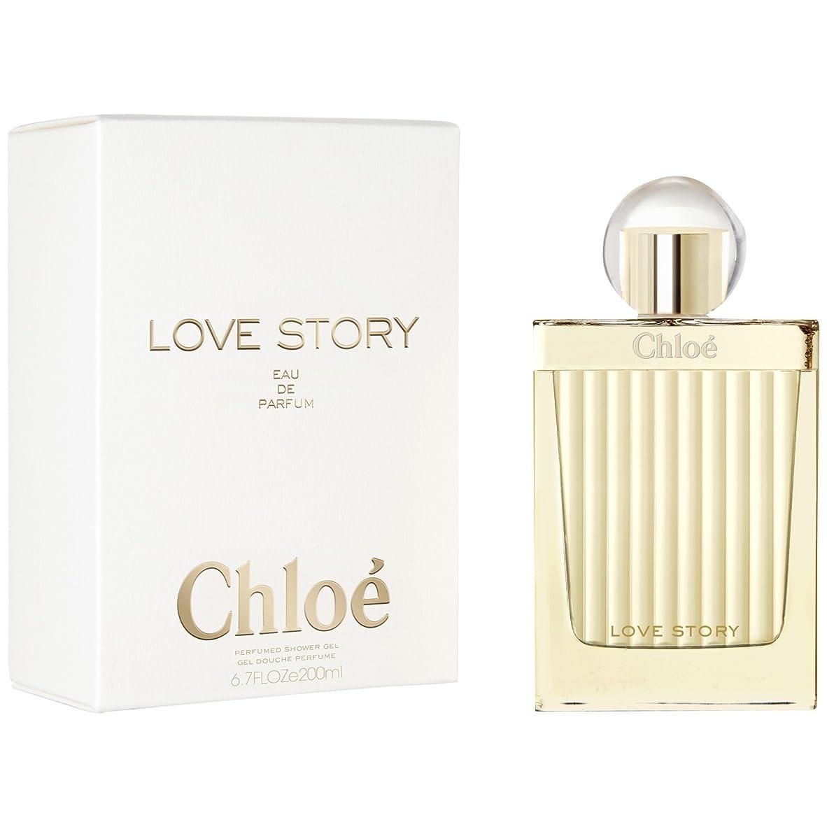 心理的に脅かす思いやりのあるクロエの愛の物語シャワージェル200ミリリットル (Chlo?) (x6) - Chlo? Love Story Shower Gel 200ml (Pack of 6) [並行輸入品]