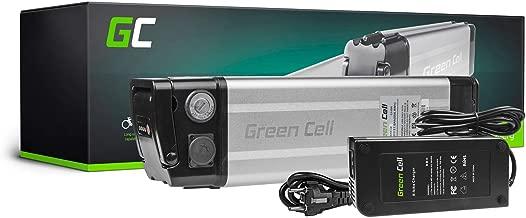 GC® Batería E-Bike 48V 11.6Ah Bicicleta Eléctrica Silverfish Li-Ion con Celdas Panasonic y Cargador Batavus Voltitude E-Totem Blix