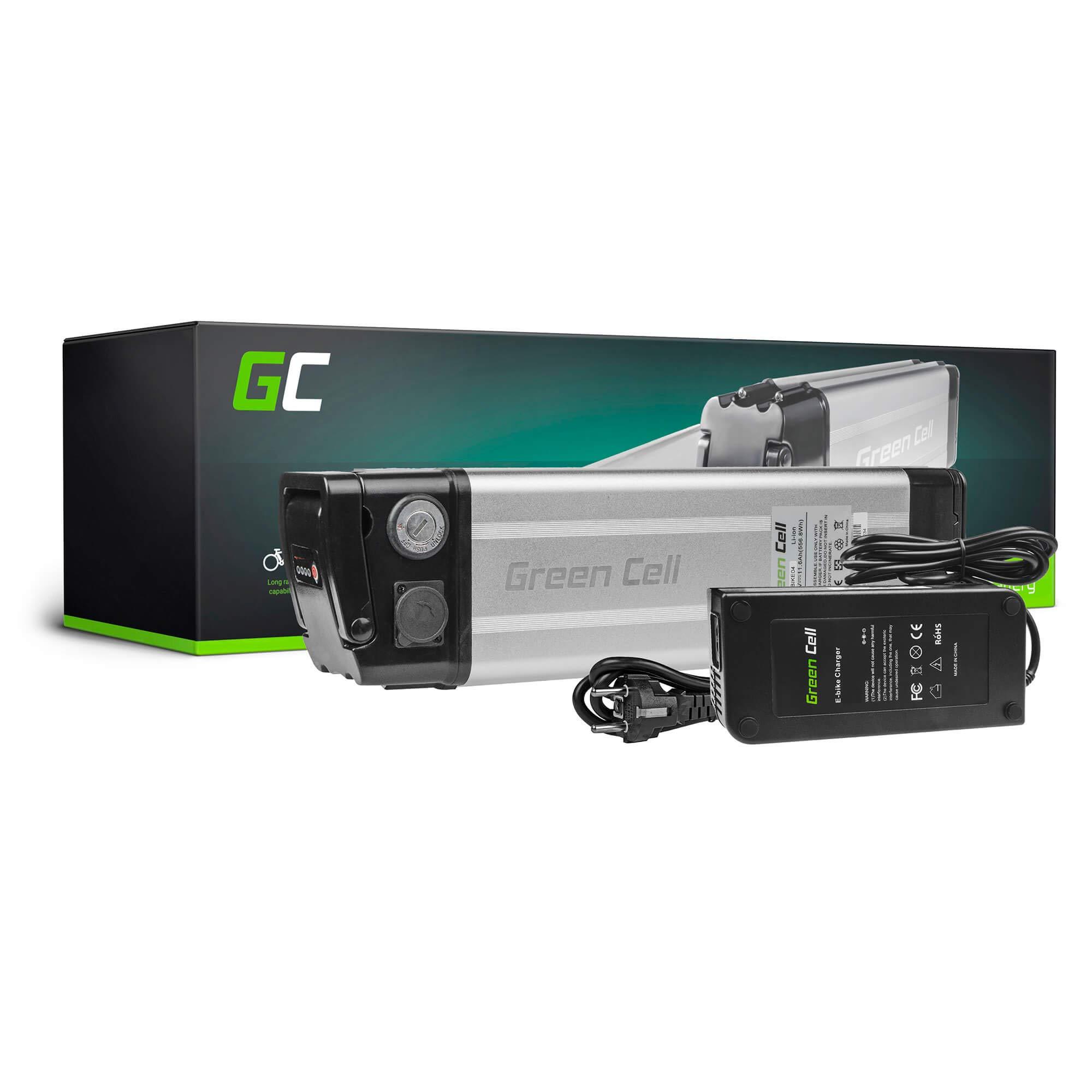 Green Cell ebike 48 V 11.6ah batería Silverfish, con Celdas ...