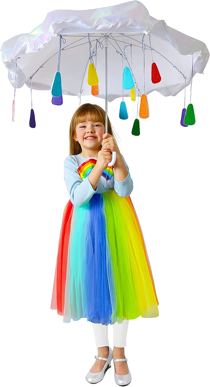 Princess Paradise Child's Rainbow New product! New type Costume Raincloud Outstanding