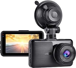 Aigoss Cámara de Coche Dashcam 1080P Full HD Grabador de Conducción para Automóviles de 170° Gran Angular con Pantalla LCD...