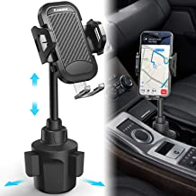 Kaome Cup Holder Phone Mount Adjustable Long Neck Phone Cup Holder for Car for iPhone 11/11Pro Max/XR/X/8 Plus, Samsung Galaxy S20 Ultra Note 10 Plus/10 9