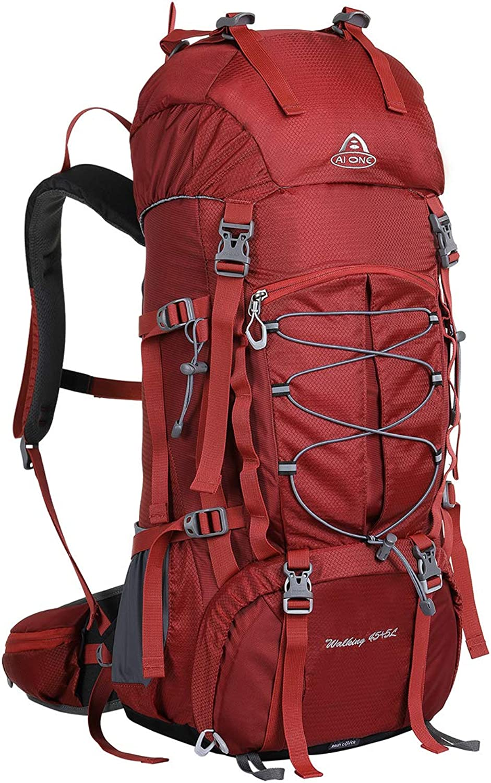 Lisay Männer Frauen 50L Bergsteigertasche Multifunktional Camping Dayback Wasserdicht Reiserucksack Reiserucksack Reiserucksack Outdoor Sport Rucksack Nylon Wanderrucksäcke B07LG1TQZC  Verkauf neuer Produkte f3ee49