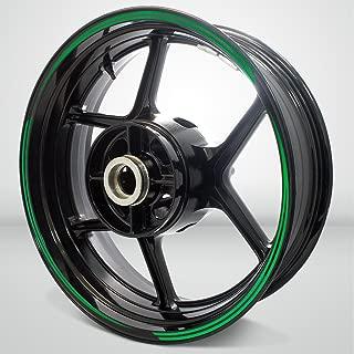 Vector Outer Rim Liner Stripe for Suzuki SV650 Reflective Green