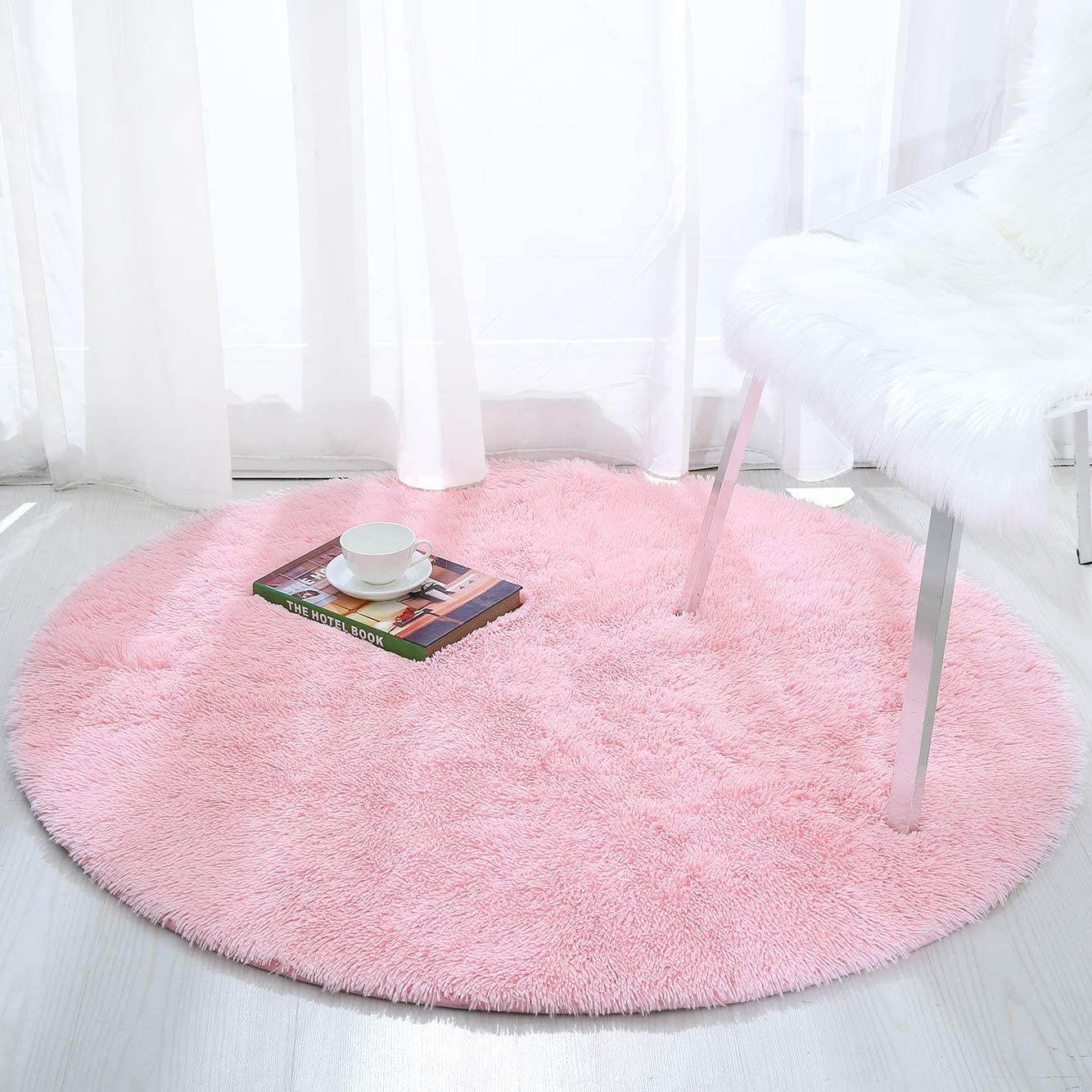 Direct stock discount Softlife Fluffy Soft Round Bedroom Rugs Shaggy Feet 4 Ranking TOP14 Circle x