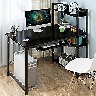 JBHURF Ordinateur de Bureau Bureau Bureau bibliothèques Combinaison Armoire Un Seul étudiant Moderne écrit Chambre à Couch...
