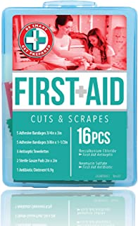 """Be Smart Get Prepared Total Resources International """"Let's Go Cuts & Scrapes"""" Compact First Aid Kit"""