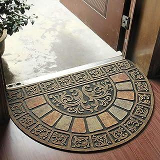 WOXIN Entrédörrmatta, halkfri dörrmatta handschablonerad entrématta inomhus/utomhus dörr skoskrapa entré, lätt att rengöra...