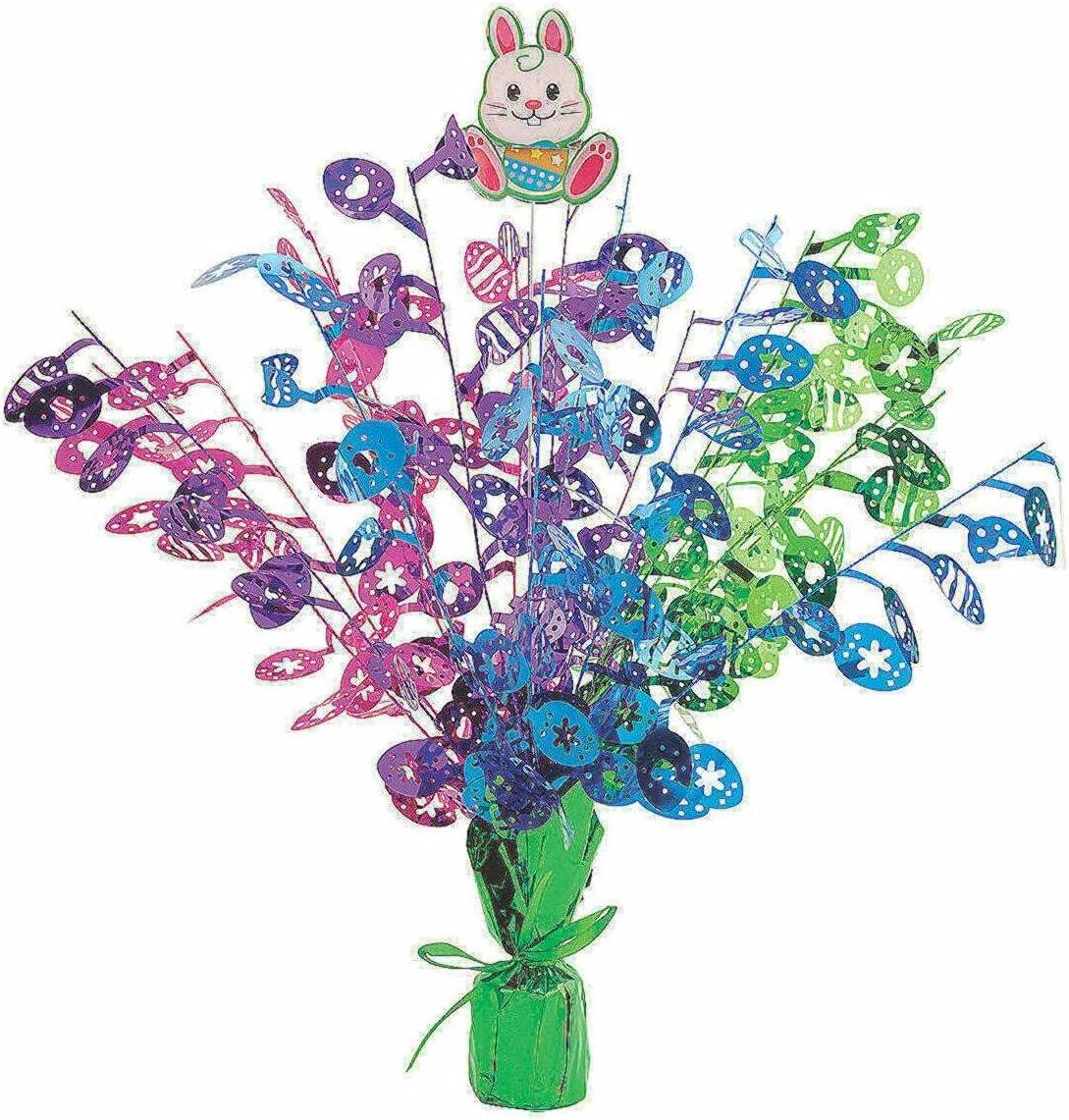 Easter Bunny Foil Max 61% OFF Burst Max 44% OFF Centerpiece Piece Decor 1 - Party