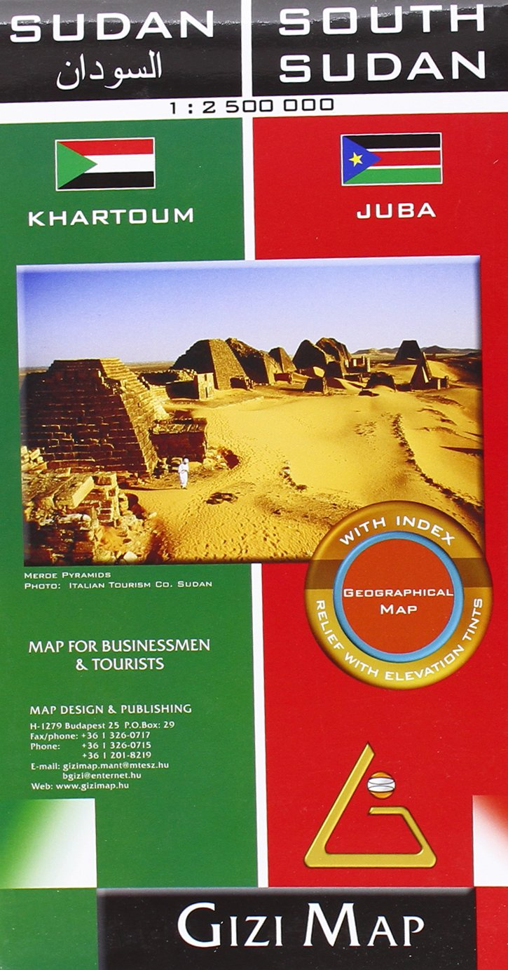 Read PDF Sudan & South Sudan Geographical (GEOGRAPHICAL MAP 1 ...