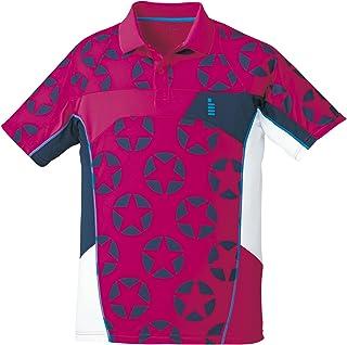 ゴーセン(GOSEN) 男女兼用 バドミントン ソフトテニス 星柄ゲームシャツ T1712