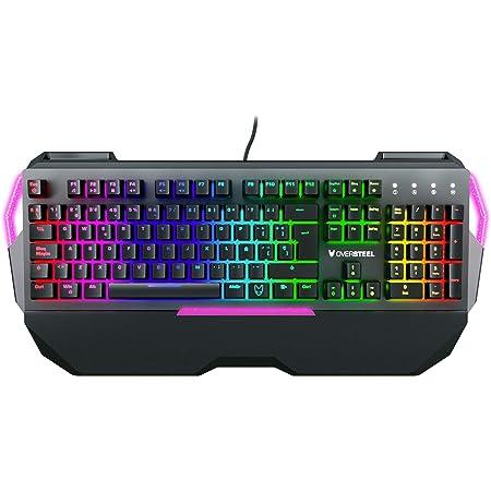 Oversteel - Teclado gaming mecánico TITANIUM con RGB, switch ...