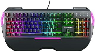 Oversteel IRON   Mechanische Gaming Tastatur, RGB, Red Switch, deutsches Layout