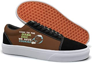 Come To The Dark Side We Have Cookies2 Fashion Skateboarding Shoes Men