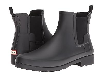 Hunter Original Refined Chelsea Boots (Black) Women