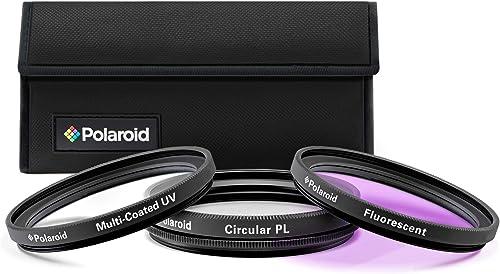 wholesale PLR Optics 55MM High Resolution 3-Piece Filter Set (UV, Fluorescent, lowest Polarizer) for The Sony Alpha lowest DSLR & Sony Lenses outlet online sale