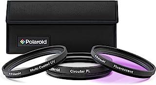 طقم فلتر زجاج 3 قطع متعدد الطبقات HD مع جراب من بولارويد 40.5mm PL3FIL40.5