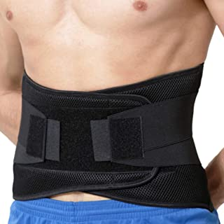 comprar comparacion Apoyo lumbar con fuertes tirantes de doble banda, Faja para la Cintura/Espalda/Zona lumbar - Marca Neotech Care - Color Ne...