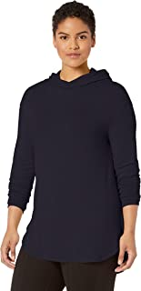 Daily Ritual Amazon Brand Women's Plus Size Supersoft Terry Long-Sleeve Hooded Pullover