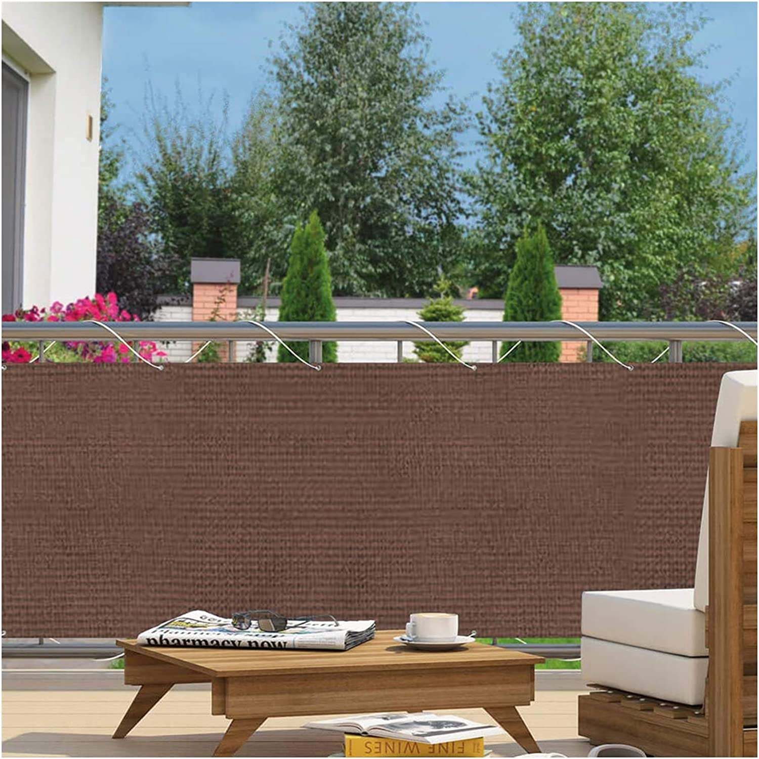 Pillows-RJF Balcony Privacy Screen,HDPE Tarp Dallas Mall Clearance SALE! Limited time! Windscreen Shade